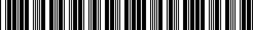 Barcode for 36110439435