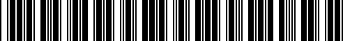 Barcode for 51910148460