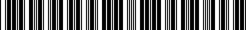 Barcode for 51910303539