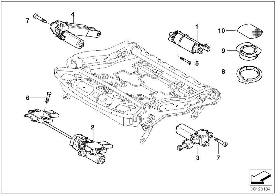 2007 bmw 535xi parts diagram