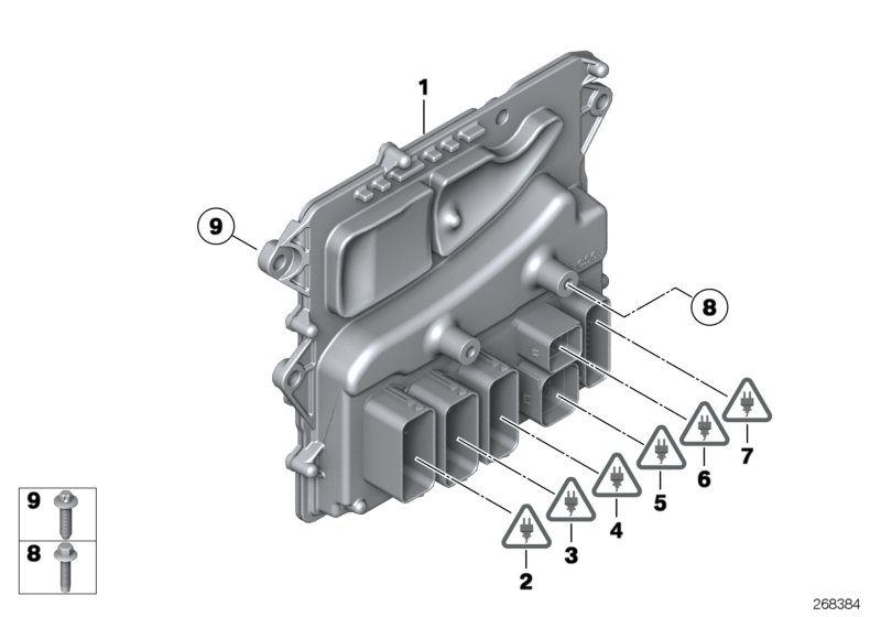 Bmw 335i Basic Control Unit Dme  Mevd172  Units  System
