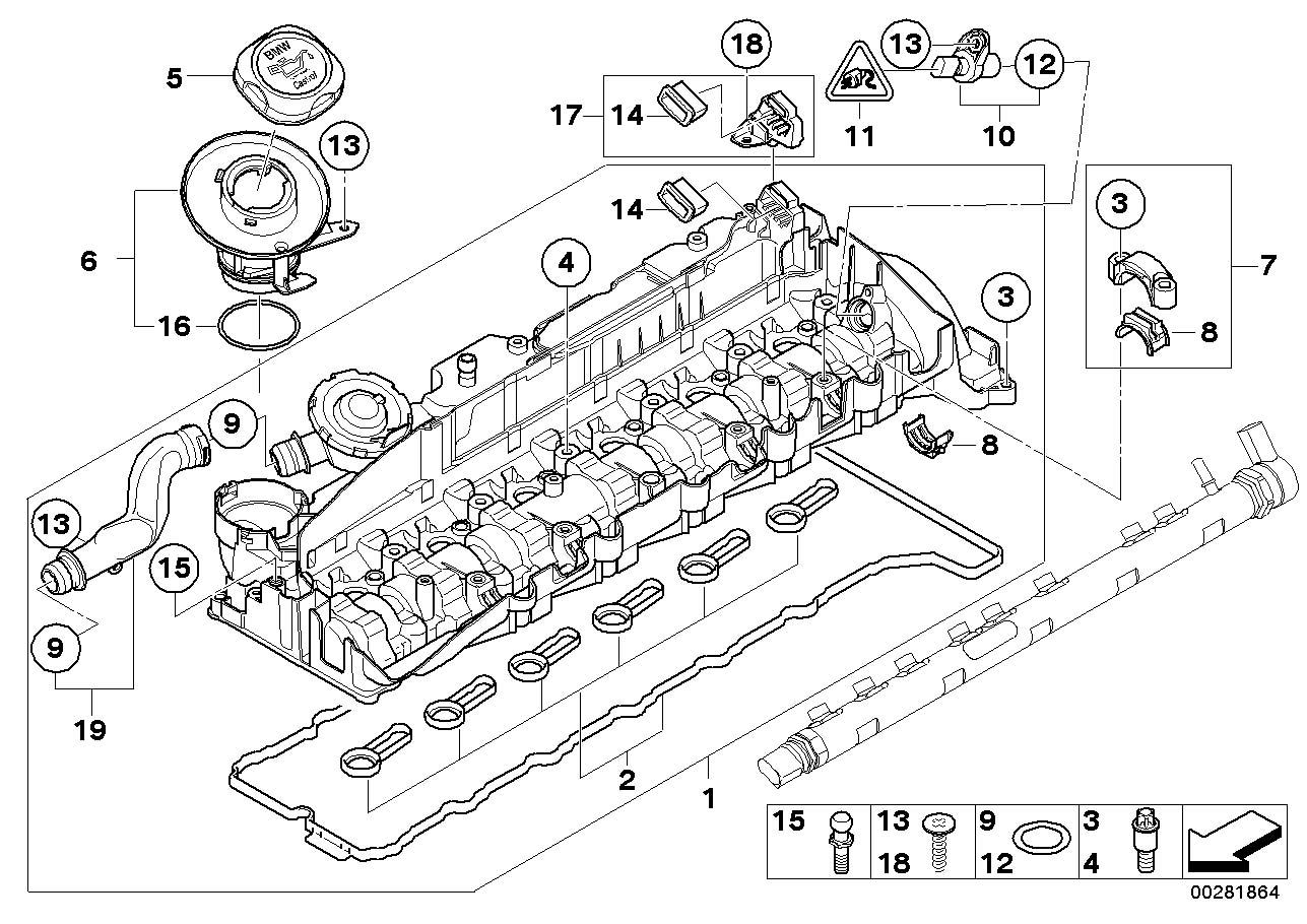 Bmw 328d Camshaft Sensor  Engine  Cylinder  Head