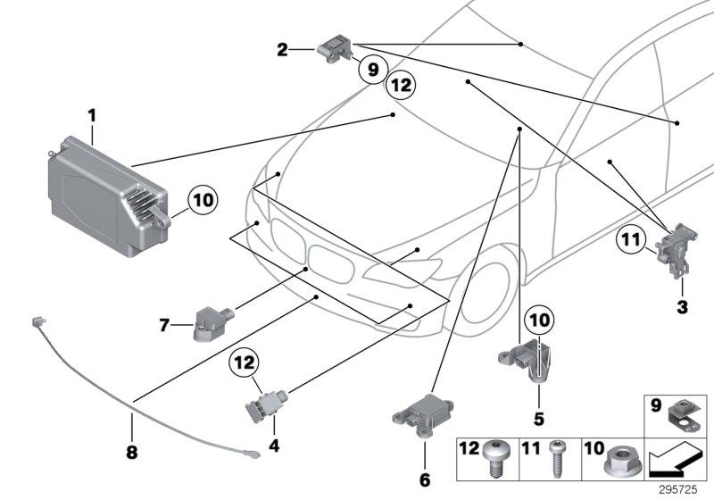 bmw x3 control unit airbag  alpina  electric